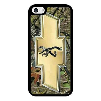 Camo Browning Chevrolet iPhone 5/5S/SE Case
