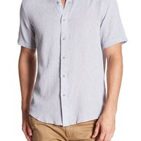 Report Collection | Short Sleeve Textured Dobby Shirt | Nordstrom Rack