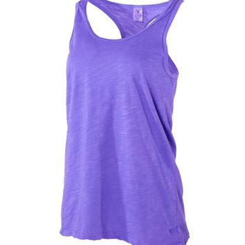Donna Venley Women's Relaxed Fit Ath Lesiure Racerback Tank Top