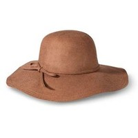 Women's Floppy Hat with Sash - Brown - - Mossimo™