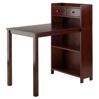 Tyler Table with Storage Shelf