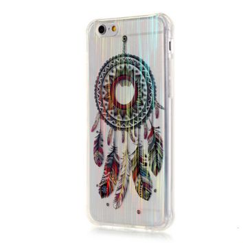 TPU drawing wind chimes Phone Case Cover for Apple iPhone 7 7 Plus 5S 5 SE 6 6S 6 Plus 6S Plus + Nice gift box! LJ161007-005