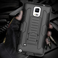 Military Armor Kickstand Cover Case For Samsung Galaxy Note 4 5 3 2/S7/S5/S6/S6 Edge/S6 Edge+/A5 A7/S4/S3