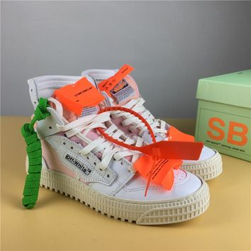 OFF-WHITE CO VIRGIL ABLOH 18SS White/Pink Size 36-44