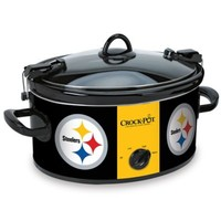 NFL Pittsburgh Steelers Crock-Pot® Cook & Carry™ 6-Quart Slow Cooker