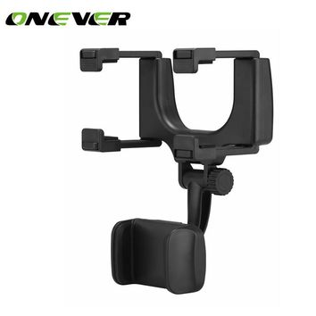Universal Car Rear View Mirror Mount Phone Holder