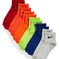 Nike Cushioned Quarter Socks