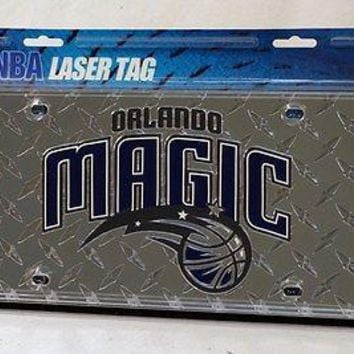 Orlando Magic NBA Laser Cut Diamond Plate License