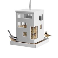 Bird Cafe Hanging Bird Feeder