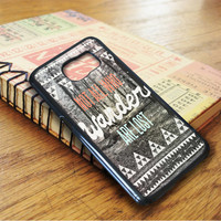 Not All Who Wander Samsung Galaxy S7 Case
