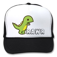 I am T-Rex hear me RAWR Hat from Zazzle.com