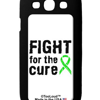 Fight for the Cure - Lime Green Ribbon Lyme Disease Galaxy S3 Case  by TooLoud