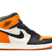 "Air Jordan 1 Retro High Og ""shattered Backboard"" - Air Jordan - 555088 005 - black/starfish-sail 