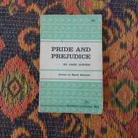Pride and Prejudice by Jane Austen paperback book Riverside editions
