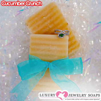 Cucumber Crunch Luxury Jewelry Soaps
