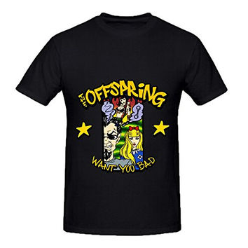 Offspring Want You Bad 80s Men Round Neck Diy Shirts