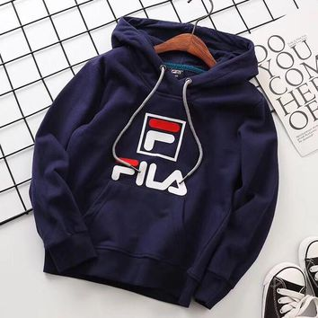 Copy of Fila Girls Boys Children Baby Toddler Kids Child Fashion Casual Top Sweater Pullover Hoodie