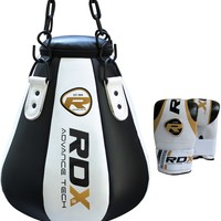 RDX Boxing Maize Punch Bag Heavy Duty with Boxing Gloves