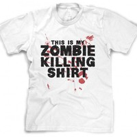 This is my Zombie Killing T Shirt