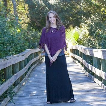 Maxi  Skirts:  Large  Black  Maxi  Skirt  From  Natural  Life