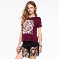 Slim Short Sleeve Casual Simple Design Totem T-shirts [9108981127]