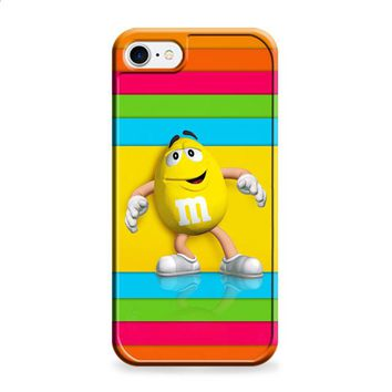 M&M's Yellow Candy Rainbow iPhone 7 | iPhone 7 Plus case