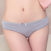Women's cotton underwear lace briefs