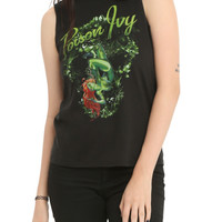 DC Comics Poison Ivy Vines Girls Muscle Top