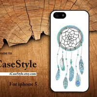 iphone 5 case iphone 5 cover  iphone hard case iphone 5 otterbox unique iphone 5 case Personalized case iphone5 case-Dream Catcher