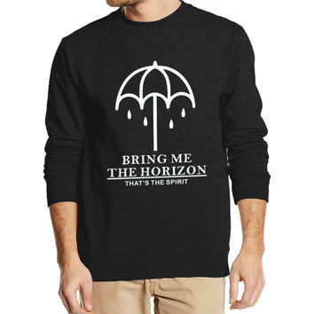 BRING ME THE HORIZON 2016 new autumn winter fashion men sweatshirt hoodies streetwear high quality fleece  brand clothing