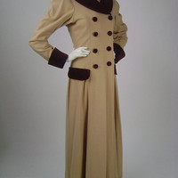 W's Victorian Coat / W's Edwardian Coat / Christmas Caroler / Steampunk / Costume / Med B36