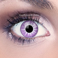 Purple Contact Lenses | Starburst Contact Lenses