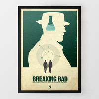 Breaking Bad Print by Needle Design at Firebox.com