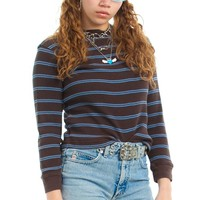 Vintage Y2K Sky High Striped Thermal - One Size Fits Many