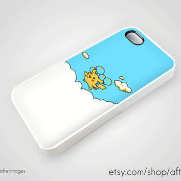 Balloon Pikachu iPhone 5 4 4S Case iPhone 4 New Pokemon Cute Kawaii Retro Silicone