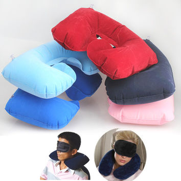 Inflatable Pillow for Travel Essential Fashion Multifunction Inflatable Pillow Patch Earplug New Braces and Supports