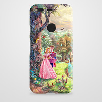 Sleeping Beauty Walt Disney Art Painting Google Pixel XL Case | casefantasy