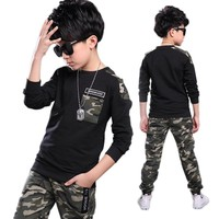 Boys Clothing Sets Kids Clothes Children Clothing Boys Clothes Suits Casual For Kids Sport Suit For Boy 2018