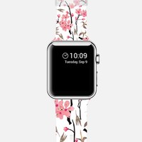 April blooms Apple Watch Band case by Kanika Mathur | Casetify