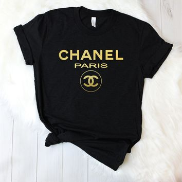 Chanel Paris Unisex T-Shirt [3001]