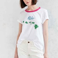 Truly Madly Deeply Hawaii Ringer Tee