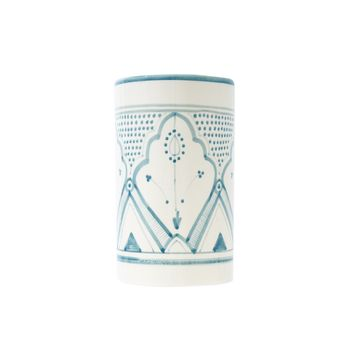 Large Mountain Vase & Container - Blue