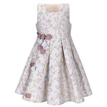 Girls Dress Baby Girl Sleeveless Princesse Dresses Kids Clothes Christmas Party Dress Lace Tutu Dresses For Girls Costume