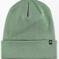 Zine Essential Sea Spray Gas Station Fold Over Beanie | Zumiez
