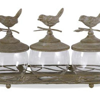 Bird Jars - Tray