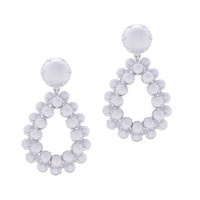 J.Crew Womens Bead Droplet Statement Earrings