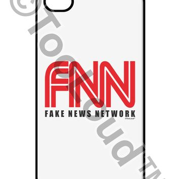 Fake News Network Funny iPhone 4 / 4S Case  by TooLoud