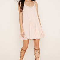 Lace-Trimmed Cami Dress | Forever 21 - 2000185648