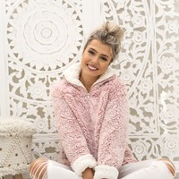 Pink Cozy Pullover