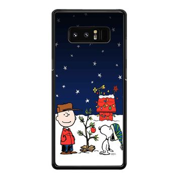 Charlie Brown Christmas Peanuts 001 Samsung Galaxy Note 8 Case